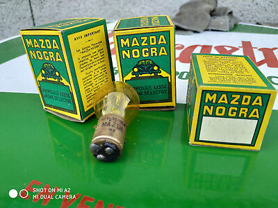 N.O.S ampoule lampe MAZDA 12V 36/36W MOTO VOITURE ANCIENNE COLLECTION
