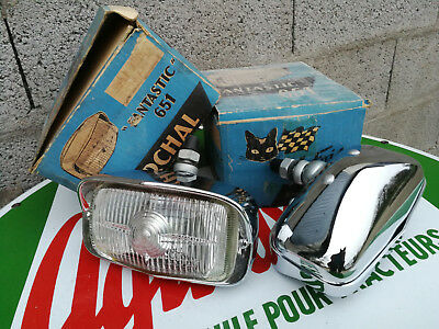 N.O.S paire phare antibrouillard MARCHAL 651 FANTASTIC MUSTANG SHELBY AC COBRA