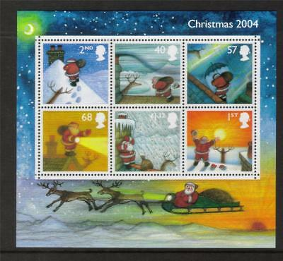 GB 2004 Commemorative Stamps~Christmas~ M/S~Unmounted Mint Set~UK Seller