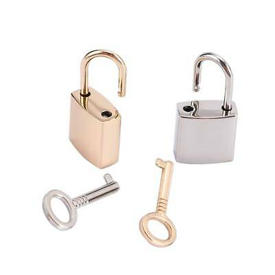 Padlocks Mini Archaize Portable Jewelry Storage Box Diary Book Key Lock