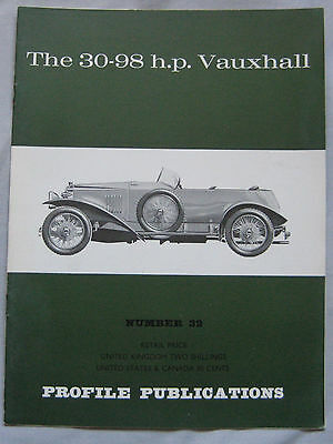 Profile Publications magazine Issue 32 featuring Vauxhall 30-98 h.p.