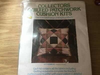 Quilted Patchwork Cushion Kit