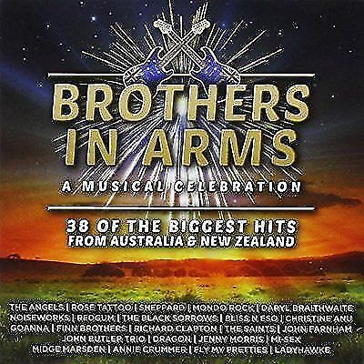 BROTHERS IN ARMS: A Musical Celebration. 2 CD AUSSIE MUSIC COMPILATION