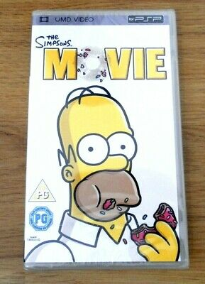 The Simpsons Movie for Sony PSP (UMD, 2008) NEW