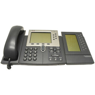 Cisco Unified IP Phone CP-7962G + Expansion Module 7914