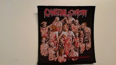 Cannibal corpse - The bleeding figures patch woven death metal new