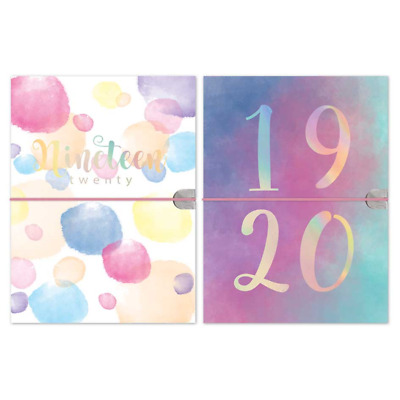 2019 2020 A5 Week to View Academic Mid year Diary Soft Touch Flexi Cover Diary