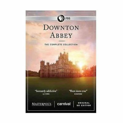 Downton Abbey: The Complete Collection DVD 2016 Sealed Boxed Set + Bonus Videos!