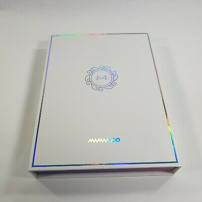 MAMAMOO 9th Mini album White Wind Opened CD Booklet [NO photocard] KPOP Official