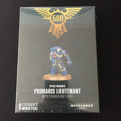 Space Marines Primaris Lieutenant Stalker Bolt Rifle 500Th Store Limited Edition