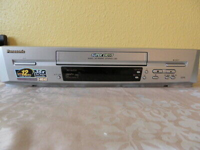 Panasonic NV-SJ220 VHS VCR Video Recorder Player PAL & NTSC Playback Super Drive