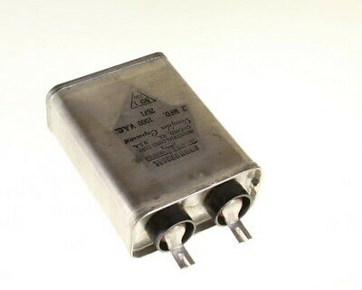 100mfd 200VDC Hermetically Sealed Oil Capacitor 100uf 200V 200 Volts DC 120VAC
