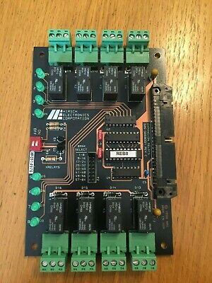Hirsch Electronics Relay Expansion Alarm Board - REB 8  / 026-000800 1 (REV C)