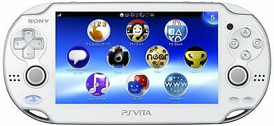 SONY PS Vita PCH-1000 ZA02 Crystal White Console Only Wi-Fi model JAPAN IMPORT