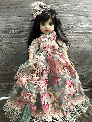 "Outfit for Little Darling Dianna Effner dolls, My Meadow, Paola Reina 13"" dolls"