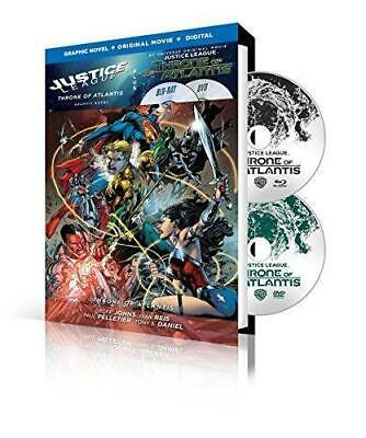 Justice League: Throne of Atlantis Graphic Novel (Blu-ray/DVD 2-Disc Set)