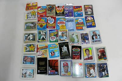 DONRUSS Baseball Puzzle & Sports Picture Cards Unopened 36 Pack Collectable