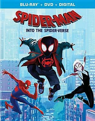 Spider-man: Into the Spider-verse - Blu-Ray Region 1 Free Shipping!