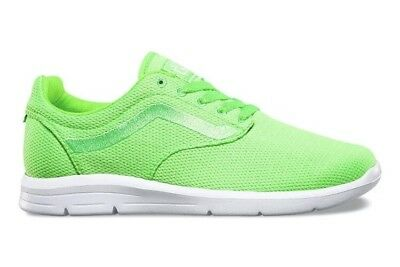 7777d2b40a VANS Mens 7.5 Womens 9 ISO 1.5 Mesh Green Gecko Running Athletic Sneakers  Shoes