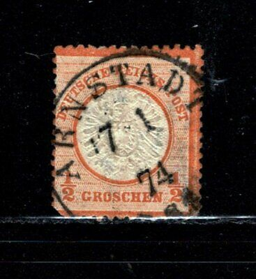 Item No. A6710 – Germany – Scott # 15 – Used