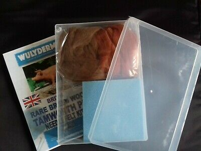 Pig Needle Felt Kit In A4 Plastic Storage Box British Rare Breed Wool