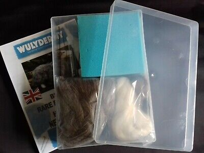 Herdwick Rare Breeds sheep needlefelt kit in A4 plastic box British Wool