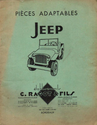 rta revue technique JEEP WILLYS ET FORD camion militaire ww2