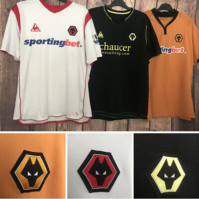 Wolves Wolverhampton Wanderers Football Shirt, All Sizes, FA Cup Semi-Final