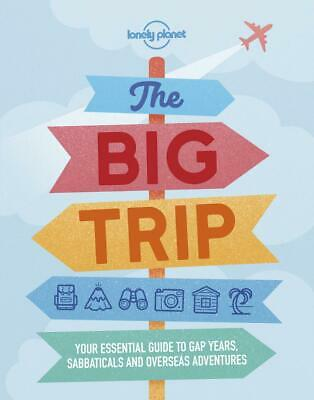 The Big Trip by Lonely Planet Paperback Book Free Shipping!