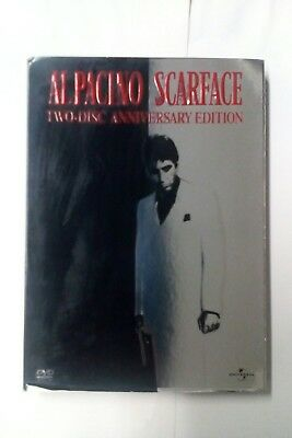 Scarface Two-disc Anniversary Edition DVD 2003( Al Pacino)