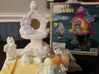 Accents Unlimited Wee Crafts Hoppity Hide-a-Way NOS  - Ready to Paint