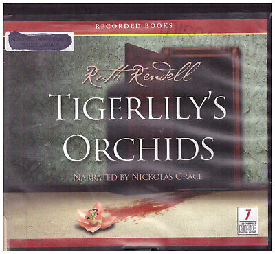 Tigerlily's Orchids Ruth Rendell audiobook cds Audio Book Unabridged