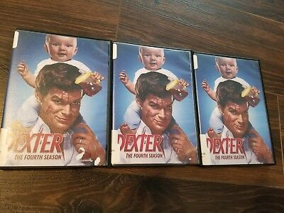Dexter season 4, disc 1, 2, 3