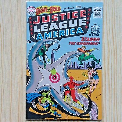The BRAVE and The BOLD #28 Justice League 1st Appearance REPRINT
