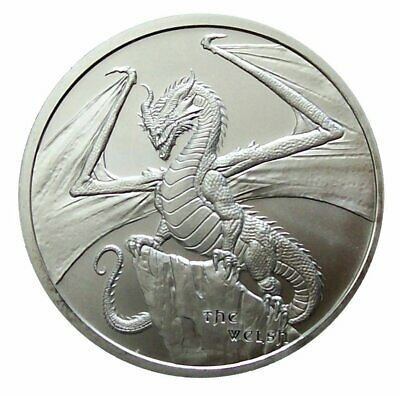 ++ World of Dragons - The Welsh - 1oz Silber / Ag  ++