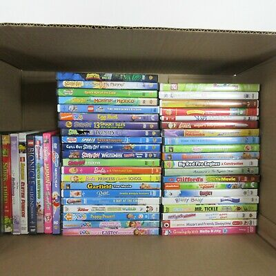 Children's Kids DVD's Only $2.99 Each with FLAT RATE SHIPPING on Whole Order