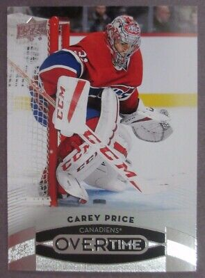 2015-16 Upper Deck Overtime #29 Carey Price Montreal Canadiens