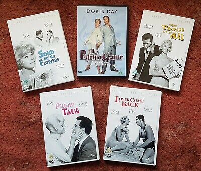 Collection of 5 Classic Doris Day Films - DVDs - condition: Like New