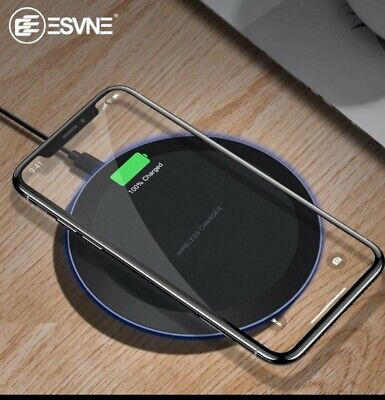ESVNE 5W Qi Wireless Charger for iPhone X Xs MAX XR 8  Fast Charging Universal