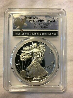 2017-W Proof American Silver Eagle PCGS PR70DCAM First Strike