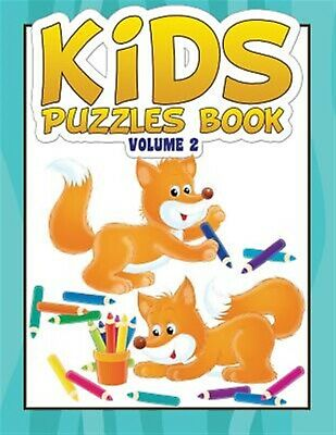 Kids Puzzles Book Volume 2: Puzzle Book for Kids #2 by Grande, David a.