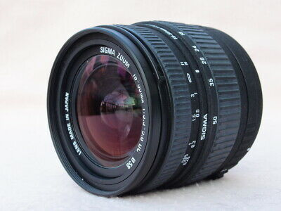SIGMA 18-50mm 1:3.5-5.6 DC ZOOM LENS FITS CANON EOS APSc DIGITAL MODELS – NICE!
