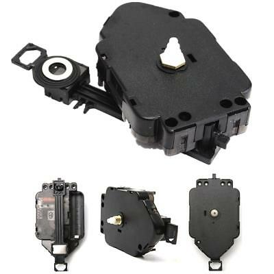 Black Replacement DIY Quartz Clock Pendulum Movement Mechanism Motor & Hanger
