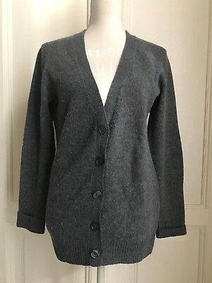 Cardigan grigio lana UNIQLO wool grey cardigan S
