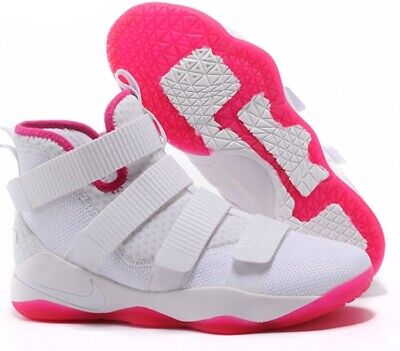 f6cd5461a58fe NEW NIKE LEBRON Soldier Xi Shoes Mens Sz 17 897644 102 Lebron James ...