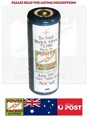 Australian Made 72300 Battery to suit Welch Allyn