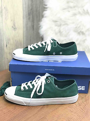84d0cb3b0e98 Sneakers Men s Converse Jack Purcell Pro Suede Deep Emerald Green Low Top