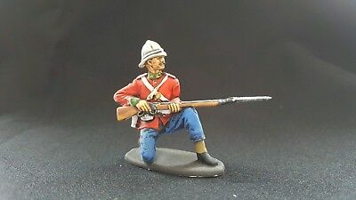 A.I.P/ A Call to arms 1/32 painted British infantry converted figure zulu war