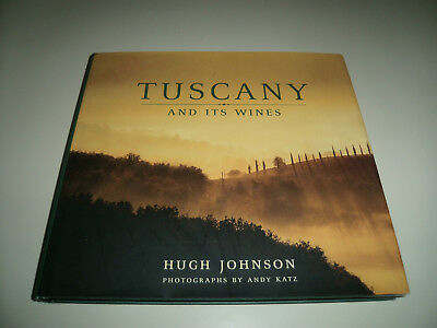 Book about wine - Tuscany and Its Wine by Hugh Johnson - Dust Jacket Andy Katz