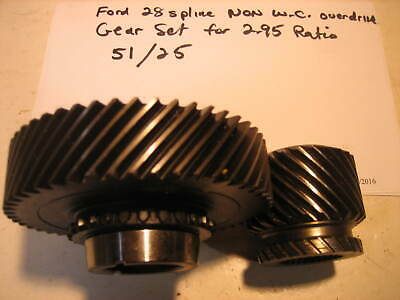 Borg Warner T5 Ford Mustang 5TH GEAR SET 51 & 25 tooth 28 Spline NON WORLD CLASS